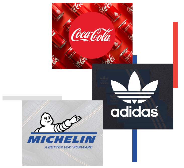 CocaCola-Adidas-Michelin-Logo