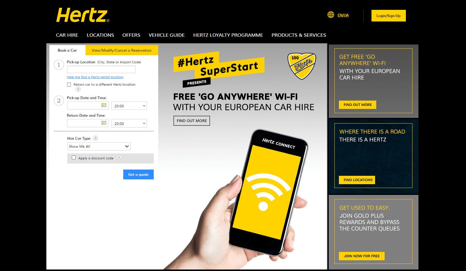 hertz.com